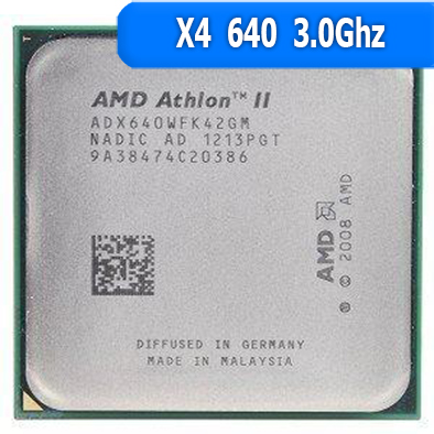 [AM3] Athlon II X4 640 3.0 GHz Max TDP: 95 W