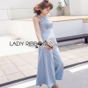 Lady Ribbon Closet Blue Jumpsuit