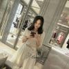 Lady Ribbon Korea Brand SW 03060616 Sweet Bunny Present... God dress Lace Scalloped Shift Dress