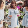 Lady Ribbon Korea LR11230516 &#x1F380 Lady Ribbon's Made &#x1F380 Lady Mila Sweet Minimal Back-Ribbon Baby Blue Dres