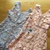 Lady Ribbon Korea Dressเสื้อผ้า LR15010816 &#x1F380 Lady Ribbon's Made &#x1F380 Lady Josephine Pastel Guipure Lace Cocktail Mini Dress มินิเดรสผ้าลูกไม้