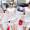 Lady Ribbon Korea Brand SS10300516 Seoul Secret Say's... Chippy Ivora Flora Embroider Set