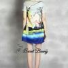 Lady Ribbon Korea Brand SW09060616 Sweet Bunny Present... Flamingo Dress
