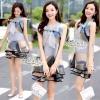 Closet &#x1F49E&#x1F4ABDress sleeveless print dress organza doll loose Korea by Aris Code