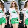 Lady Ribbon Korea Brand SS18300516 Seoul Secret Say's .... Emerald Sqinny Hatty Chic Set