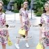 Lady Ribbon Korea Brand SS12300516 Seoul Secret Say's .... Violetta Blossom Softly Color Dress