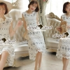 Lady Ribbon Korea Brand SS04300516 Seoul Secret Say's... Classy Flora Lace Dress