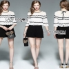 Lady Ribbon Korea Black Playsuit