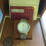 OMEGA De Ville Co Axial - White Pearl Stainless