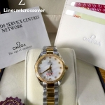 OMEGA Seamaster Aqua Terra Ladies -Yellow Gold Two tone