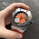 Audemars Piguet Royal Oak Offshore Diver Orange Dial 15710 - 2017 Funcky Colours