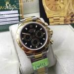 Rolex Cosmograph Daytona Two-Tone Black Dial 116523 - Swiss Grade