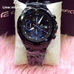 Casio Edifice EFR-539BK-1A2V Black and Blue