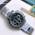 Rolex Cosmograph Daytona Black Dial and Black Ceramic 116500LN - Swiss Grade