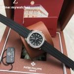 Patek Philippe Aquanaut Luce 5067A-001 - Diamonds Black Strap