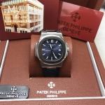 Patek Philippe Men's Nautilus 5711-R, Black/Blue Stainless Case
