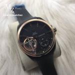 Tag Heuer Grand Carrera Pendulum - Gold Case Rfubber