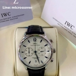 IWC Portugiser Chrongraph ST White Dial