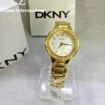DKNY Gold-Tone Ladies Watch NY4889 Wrist Watch