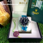 Rolex GMT Master II - Black and Green Bezel