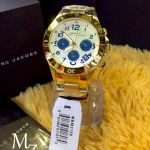 Marc By Marc Jacobs Rock Metal Chronograph Gold Ion-plated Womens Watch MBM3158