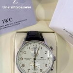 IWC Portugiser St case and white dial