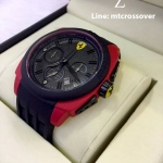 Ferrari Scuderia Aerodinamico Chronograph - Red and Black