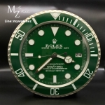 Rolex Submariner Green Dial - Wall Clock