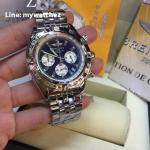 Breitling 1884 Chronomat Blue Dial Stainless Ref # AB0110