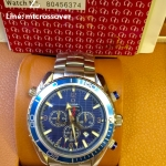 Omega Automatic Seamaster 007 Quantum of Solace Edition -Blue case st Stainless