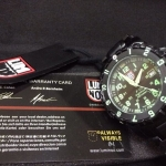 Luminox F-117 Nighthawk 6400 Series - Green Dial