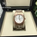Audemars Piguet Royal Oak 15400 Pink Gold Bracelet White Dial