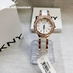 DKNY Women's NY8141 CHAMBERS Analog Display Analog Quartz Rose Gold Watch