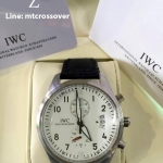 IWC Pilot White Dial and ST