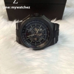 Breitling For Bently B04S - Midnight Carbon Black GMT Body