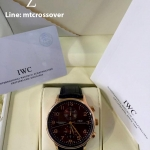 IWC Portugiser Brown Dial and Gold Case