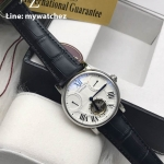 Cartier Rontonde Tourbillion White Dial Men - 40MM