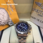 Breitling Super Avenger I Watch A13370 - Stainless Blue Dial