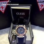 Guess Analog Blue Denim Dial Men's Watch - W0040G6