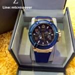 Guess W0247G3 Blue Analog Watch 45 MM