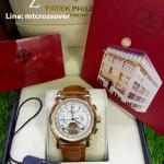 Patek Philippe Perpetual Calendar-Tourbillon White Dial Pink Gold