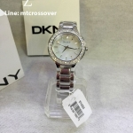 DKNY Crystal Collection Bracelet Mother-of-pearl Dial Women's watch #NY4888