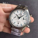 The Omega Speedmaster '57 Co-Axial Chronograph White Dial