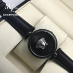 Versace Matte Black Palazzo Empire Watch