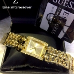 Guess W0072L1 Ladies All Gold Watch