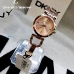 DKNY Women's NY8542 READE Analog Display Analog Quartz Rose Gold Watch