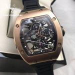 Richard Mille RM038 Tourbillion Rose Gold