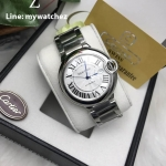 CARTIER Ballon De Cartier Men's Jumbo Size - 40MM Stainless