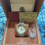 Omega Seamaster Co-Axial GMT - Stainless White Dial