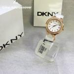 DKNY Ceramic Crystal Bezel White Dial Women's watch #NY8214